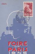 LASQUIN Robert  - Affiche Foire De Paris -   CPSM  9x14 BE 1946  Neuve  Affranchissement Philatélique - Illustrateurs & Photographes