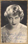 Tania Fédor (1905-1985) - Actrice Française D'origine Russe - Photo Dédicacée (années 30) - Autographe - Autografi