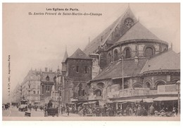 75 . PARIS . LES EGLISES DE PARIS . Ancien Prieuré De Saint-Martin-des-Champs - Réf. N°4702 - - Iglesias