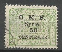 SYRIE N° 75 OBL / PELURAGE - Syrien (1919-1945)