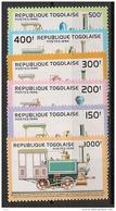 Togo - 1996 - N°Yv. 1523 à 1528 - Trains - Neuf Luxe ** / MNH / Postfrisch - Togo (1960-...)