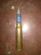 Cartouche 20mm Vulcan Bleu Alu Fr Inerte - Militaria