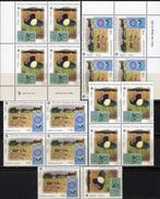 Uruguay 2880/1,4-Block+ER-Bl. ** 77€ Dorf/Strauß-Vogel Stamps On Stamp Of Espana EUROPA Sheets Ms 50 Year CEPT 2006 - Europa-CEPT