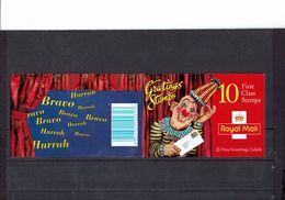 "-GRANDE-BRETAGNE -"" Timbres De Voeux - Oeuvres D'art ""- Carnet 1799a - - Carnets"