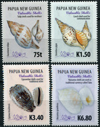 Papua New Guinea. 2017. Valuable Shells (MNH OG **) Set Of 4 Stamps - Papouasie-Nouvelle-Guinée