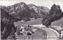 Champery - Chemin De Fer - A.O.M.C. - Auto - Trains