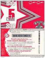 GEORGIA - Geocell Prepaid Card 5 GEL, Used - Georgië