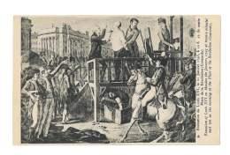 Execution De Louis XVI , Le 21 Janvier 1793 - 2911 - Malerei & Gemälde