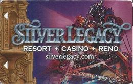 Silver Legacy Casino - Reno, NV - Hotel Room Key Card - Hotel Keycards