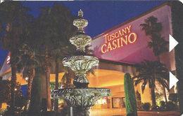 Tuscany Casino - Las Vegas, NV - Hotel Room Key Card - Hotel Keycards