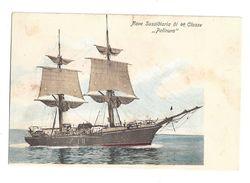 CARTOLINA NAVE MILITARE PALINURO  - 1 - Warships