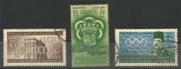 EGUS109 Egypt 1951 Mediterranean Games - Alexandria / Complete Set / Fine USED - Egypt