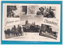 Feldpost 2. WK. Gruss Aus Bamberg 1942 - Verschiedene Militärmotive - Ohne Zuordnung