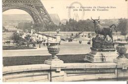 Paris. - Panorama Du Champ-de-Mars Pris Du Jardin Du Trocadero - Tour Eiffel