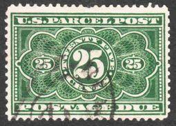 United States - Scott #JQ5 Used - Parcel Post Postage Due - Missing Perf - Portomarken