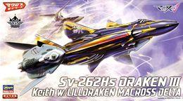 Macross : Sv-262Hs Draken III 1/72 ( Hasegawa ) - SF & Robots
