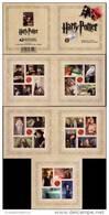 USA 2013 HARRY POTTER Prestige BOOKLET MNH CINEMA, BIRDS, JUDAICA - 3. 1981-...