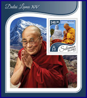 SOLOMON ISLANDS 2017 ** Dalai Lama XIV. S/S - OFFICIAL ISSUE - DH1741 - Buddhism