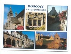 ROSCOFF (29) VIEUX QUARTIERS, EGLISE, MULTI VUES - Roscoff