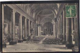 35112 . RENNES . LA NEF DE LA CATHEDRALE  .  (recto/verso)   ANNEE  1912 - Rennes