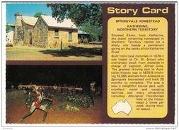 Australia - Story Card - Northern Territory - Katherine : Springvale Homestead - Katherine