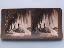 UNDER NIAGARA FALLS New York U.S.A. () Stereo Photo : American Stereo Cy ( Voir Photo ) ! - Photos Stéréoscopiques