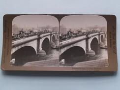 London Bridge LONDON England () Stereo Photo : American Stereo Cy ( Voir Photo ) ! - Photos Stéréoscopiques