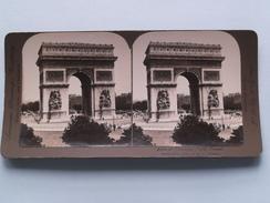 ARCH Of TRIUMPH PARIS France () Stereo Photo : American Stereo Cy ( Voir Photo ) ! - Photos Stéréoscopiques