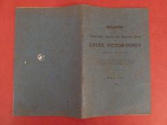 Bulletin Anciens élèves Lycée VICTOR-DURUY à Paris - Assemblée Générale De Mai 1947 - Diplômes & Bulletins Scolaires