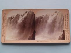 Majestic JUANACATLAN Falls, The Pride Of MEXICO (10868) Stereo Photo : Keystone View Cy ( Voir Photo ) ! - Photos Stéréoscopiques