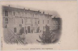 CPA - Aix En Provence - Grand Hôtel Des Thermes - Aix En Provence