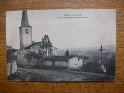 Guerre 1914 - 1915 Le Champ De Bataille De Rozelieures - France