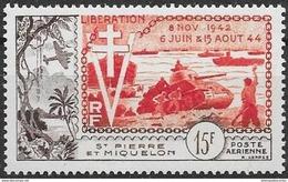T 00667 - St Pierre Et Miquelon 1954 PA N° 22 Neuf Luxe **, Côte 24.15 Euros - Neufs