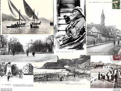 Lot De 500 Cartes Postales Anciennes Avec Des Animées. - Cartes Postales