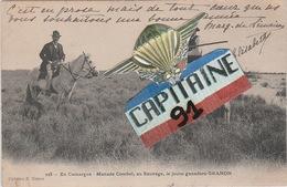 CPA EN CAMARGUE MANADE COMBET AU SAUVAGE LE JEUNE GANADERO GRANON - Agriculture