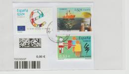 Spanien 030 / Ausschnitt, 3 Marken 2017 - 1931-Heute: 2. Rep. - ... Juan Carlos I