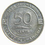 [NC] CASINO DE CHAMONIX TOKEN 50 CENTS - Casino