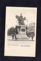 73194    Germania,   Kaiser Wilhelm-Denkmal,  Gruss Aus Dusseldorf,  NV - Duesseldorf