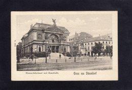 73195    Germania,  Bismarckdenkmal  Und  Kunsthalle,    Gruss Aus Dusseldorf,  NV - Duesseldorf