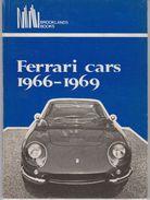 Ferrari Cars 1966-1969 - Livres, BD, Revues