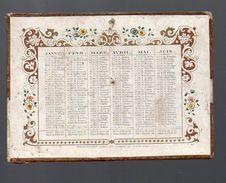 Calendrier De Poche 1852 Ed Dubois-Trianon  (PPP6178) - Calendars