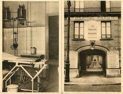 Lot De 4 CPA - PARIS - Hôpital FOCH - Salle De Petite Chirurgie - Entrée Principale - Chambre De Malade - Salle D'attent - Salute, Ospedali