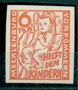 Sowjetisch Besetzte Zone ( SBZ ), Kinderhilfe, Nr. 26 A Falz * Ungezähnt - Sowjetische Zone (SBZ)