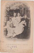 1901 Tsar Nicolas II Et La Famille Impériale De Russie à Peterhof édit ND Phot Levitsky Dos Scanné - Russie