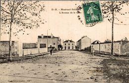 MONTREUIL BELLAY L AVENUE DE LA GARE - Montreuil Bellay