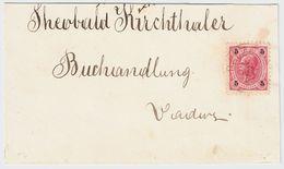 """Liechtenstein, 1897 """" Balzers """" Auf Österreich  , #8478 - Liechtenstein"""
