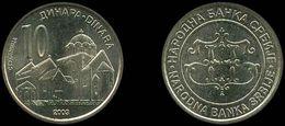 SERBIE - BANQUE DE SERBIE (BANK OF SERBIA) 10 DINARA (2003) - Serbie
