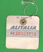 Alitalia Avion Flight Buono D'imbarco Fine Anni 50 - Transportation Tickets