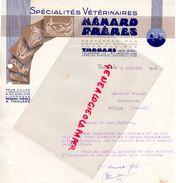 79- THOUARS- BELLE FACTURE MENARD FRERES ET ROUILLON- PHARMACIEN- PHARMACIE- 1941 SPECIALITES VETERINAIRES-VETERINAIRE - Old Professions