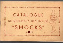 """Broderie: Catalogue N° 2 De Différents Dessins De """"smocks""""  (PPP6184) - Old Paper"""